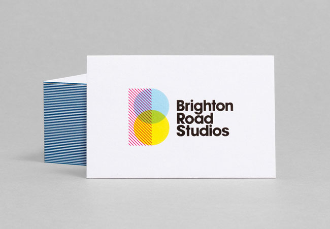 Brighton Road Studios business card