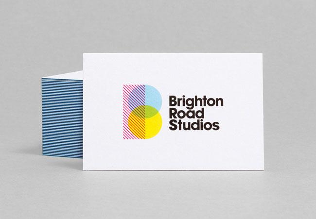 Brighton Road Studios business card