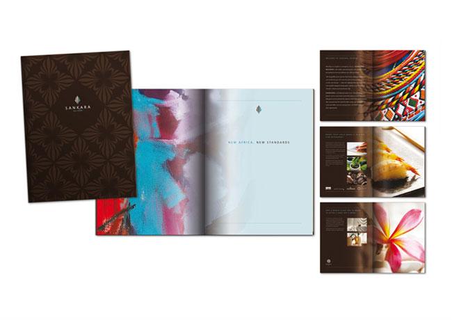 Sankara Hotel brand identity design