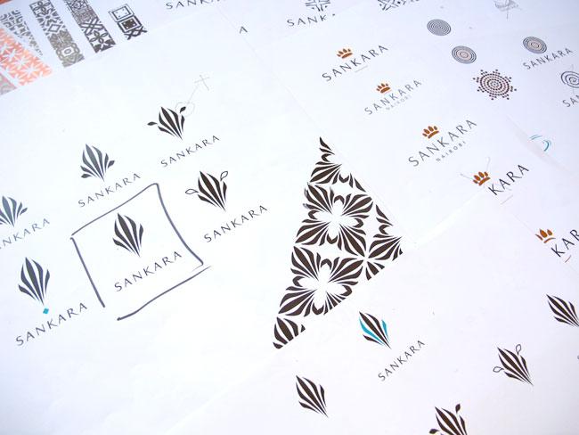 Sankara logo sketch