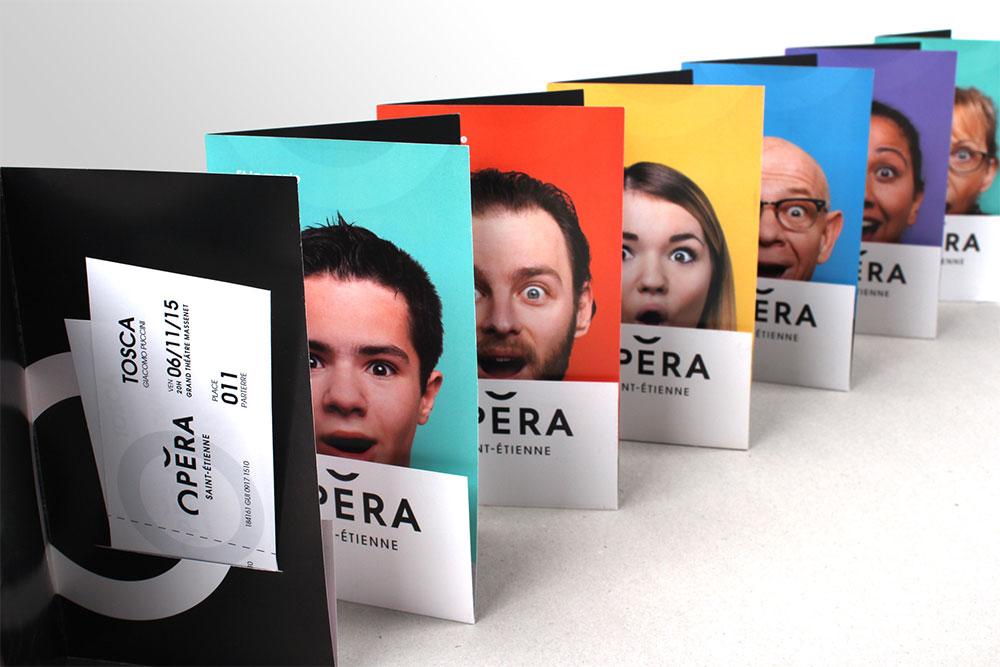 Opera Saint Etienne identity