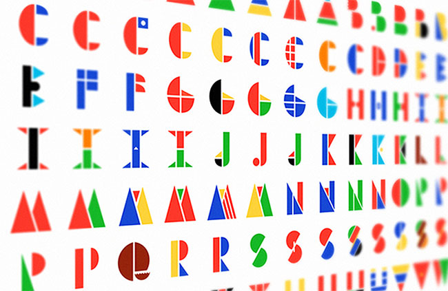 Multinational typeface