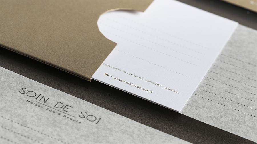 Soin de Soi stationery