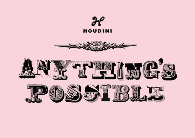 Houdini Anything's Possible