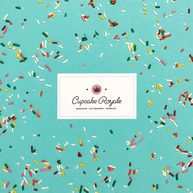 Cupcake Royale identity design