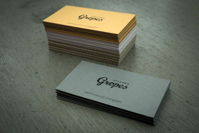 Gropes identity design
