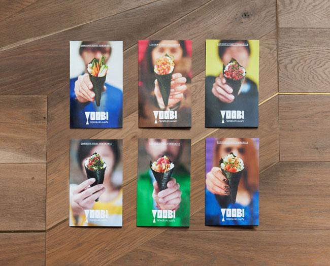 Yoobi brand identity design