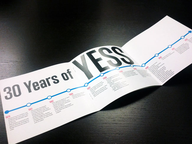 YESS identity design
