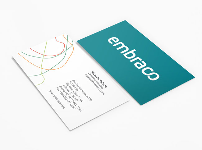 Embraco business card