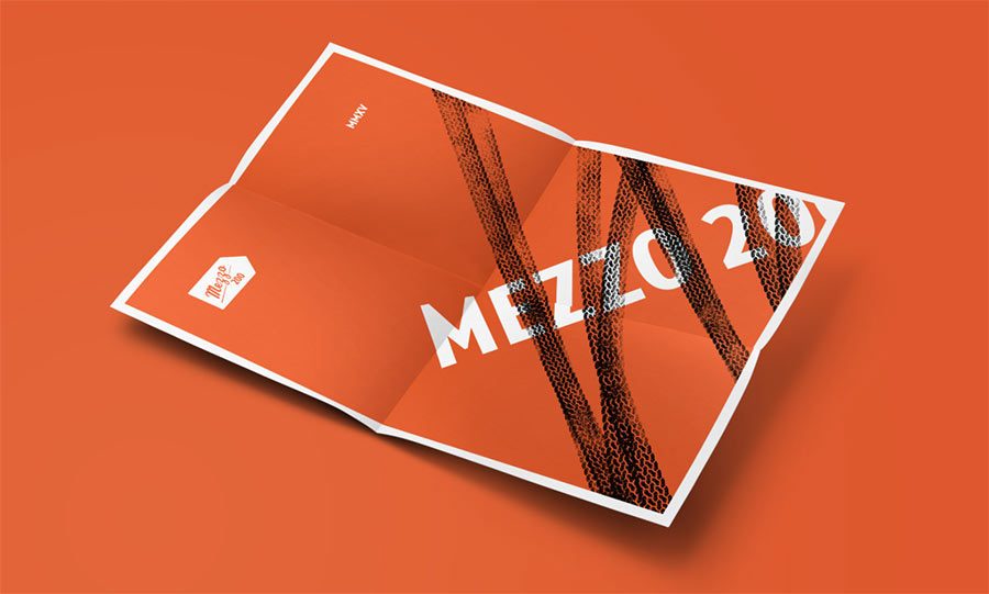 Mezzo 200 identity design