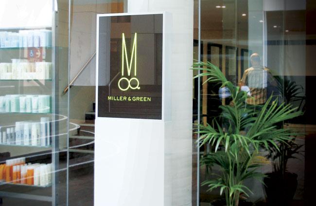 Miller & Green signage