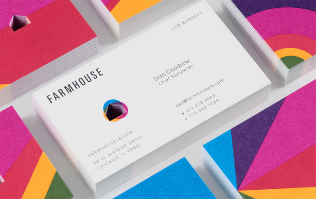 Farmhouse business card