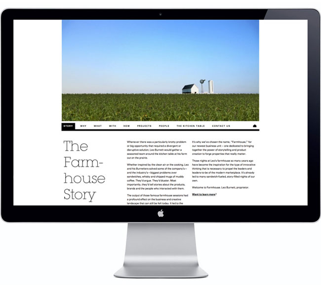 Farmhouse website