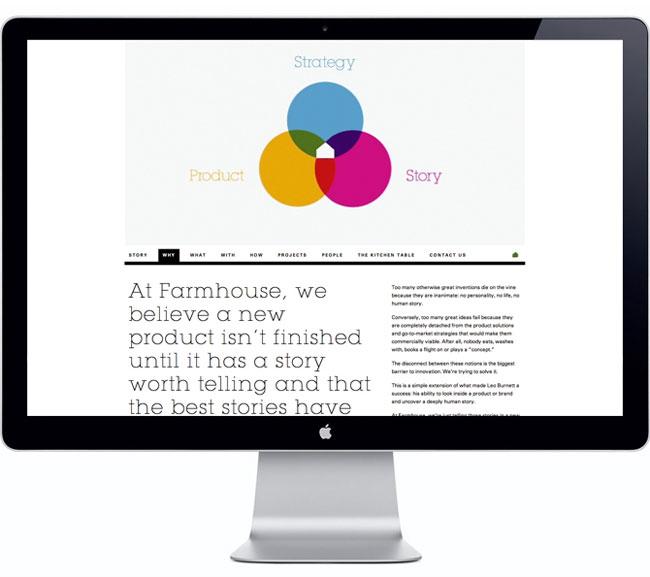 Farmhouse website