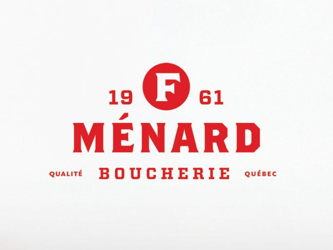 F. Ménard brand identity
