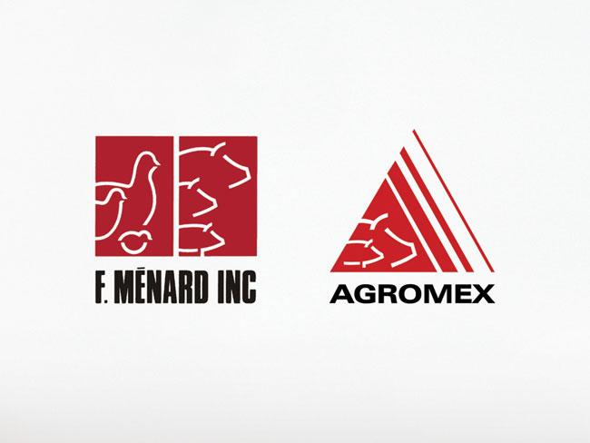 F. Ménard old brand identity