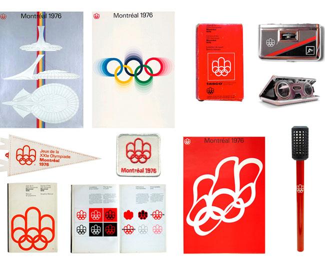 Montréal 1976 Olympic identity