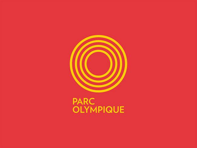 Montréal Olympic Park brand identity