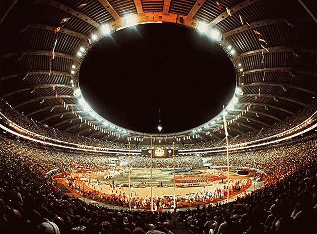 Montréal Olympic Stadium 1976
