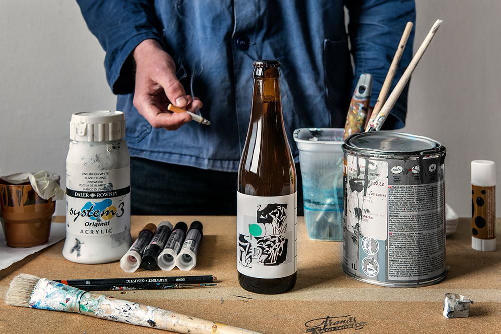 O/O Brewing Ekta Pils label