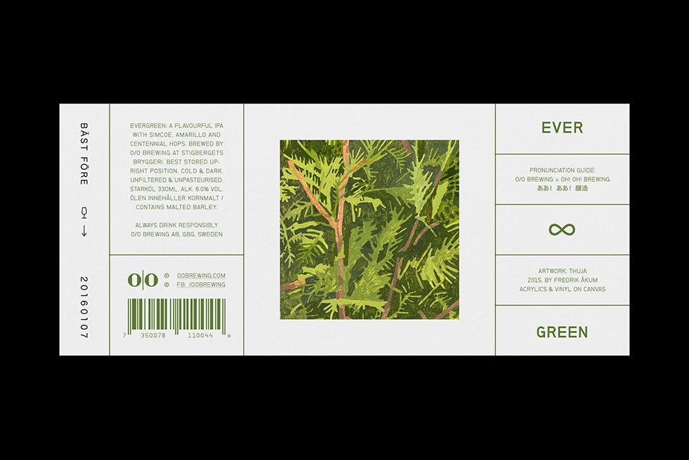 O/O Brewing identity