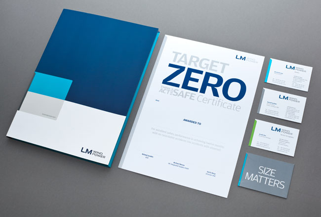 LM Wind Power brand identity