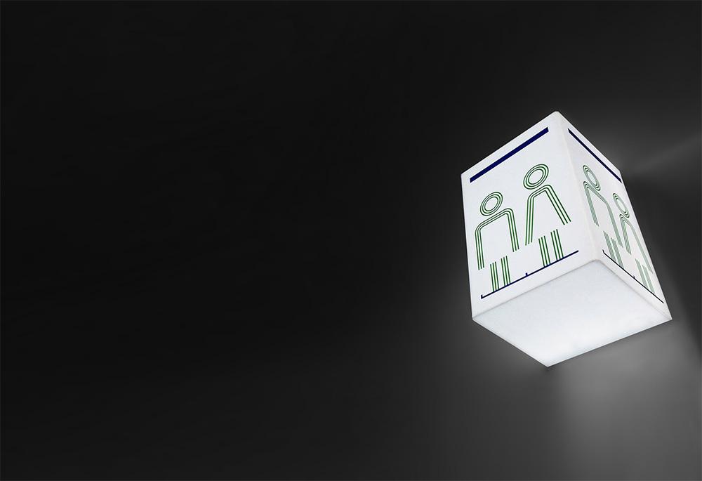 Queenstown Airport identity design