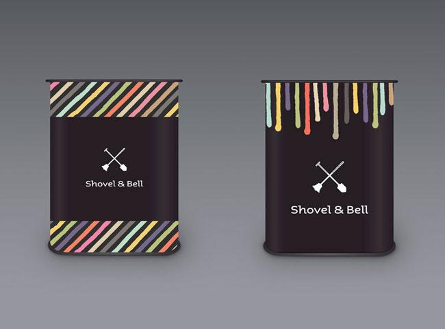 Shovel & Bell brand identity design