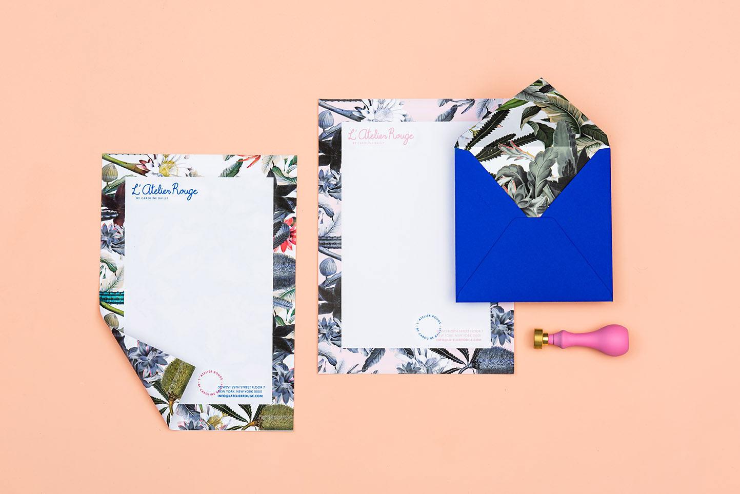 L'Atelier Rouge identity design