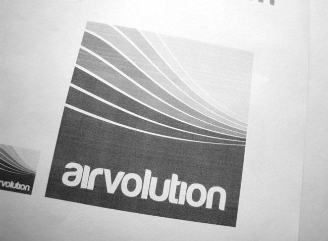 Airvolution brand identity