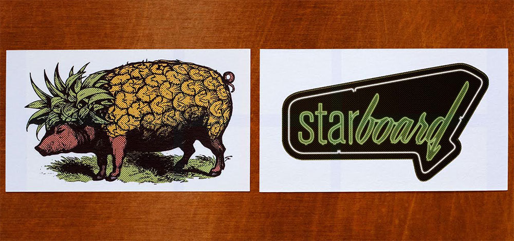 Starboard cards