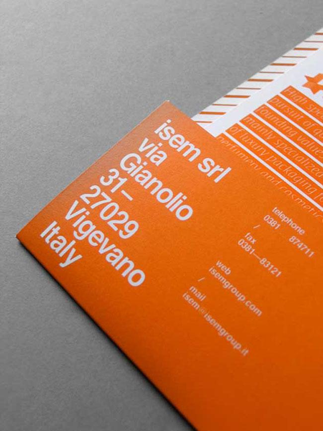 ISEM brand identity design