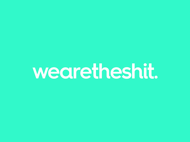 wearetheshit identity design