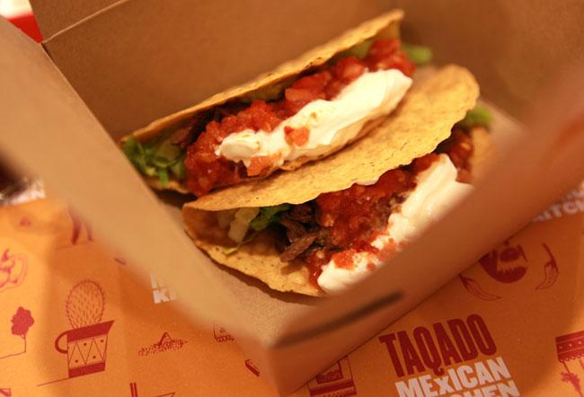 Taqado Mexican Kitchen brand identity