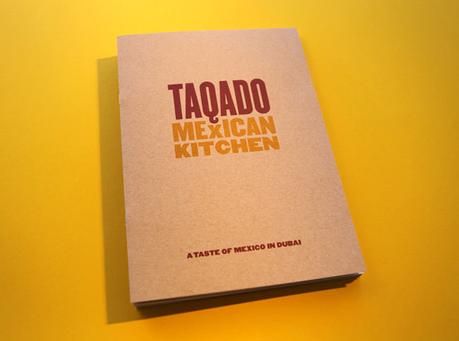 Taqado Mexican Kitchen brand identity