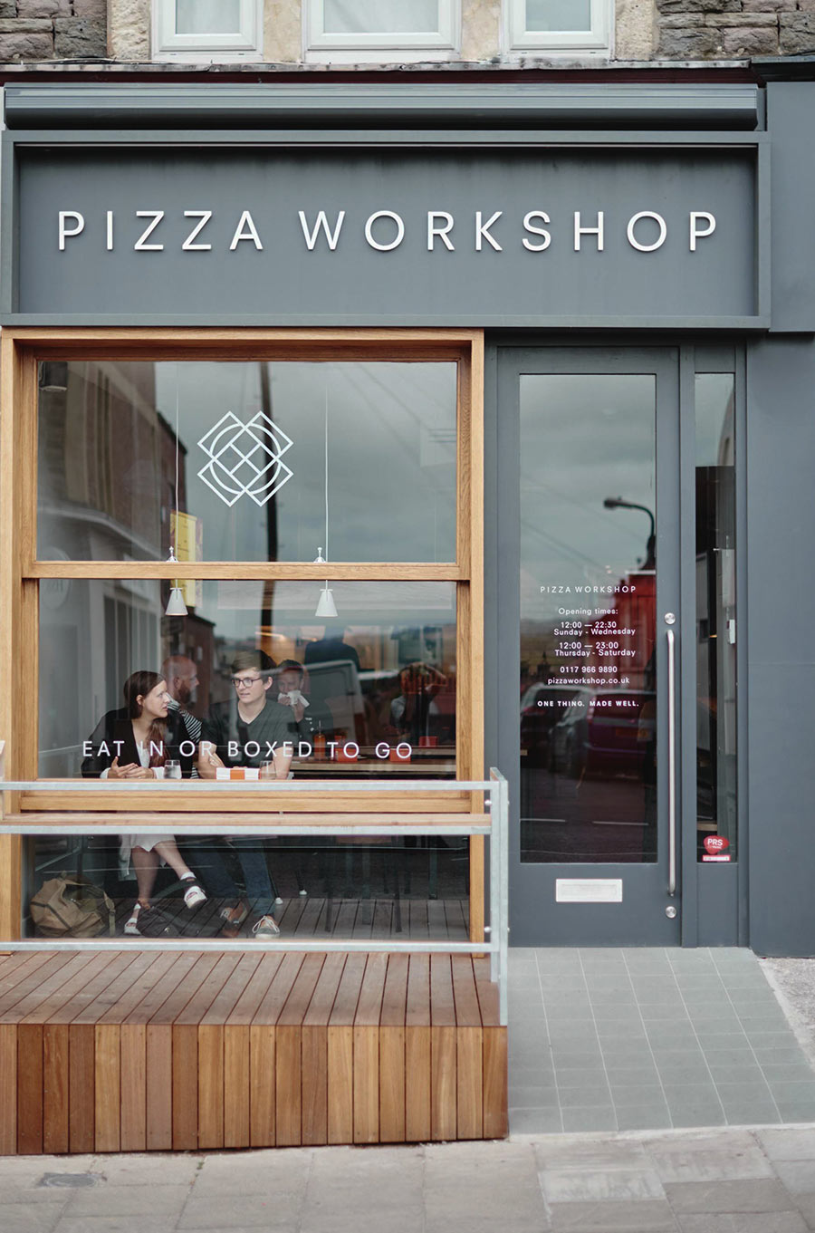 Pizza Workshop identity