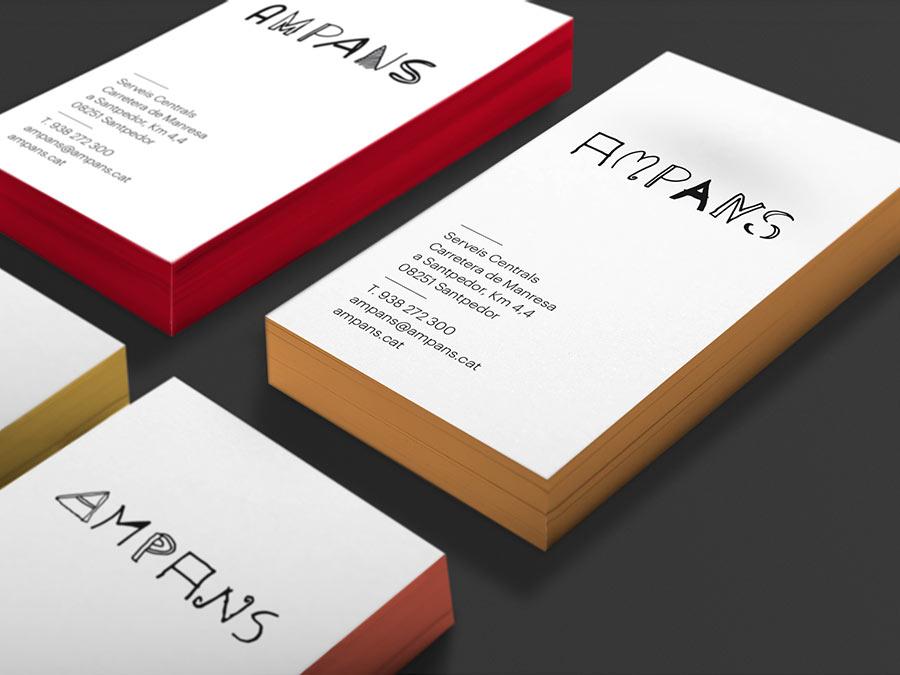 Ampans business cards