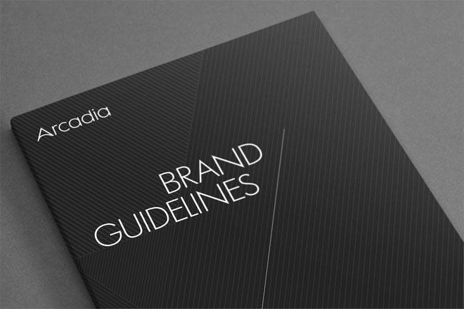 Arcadia brand identity