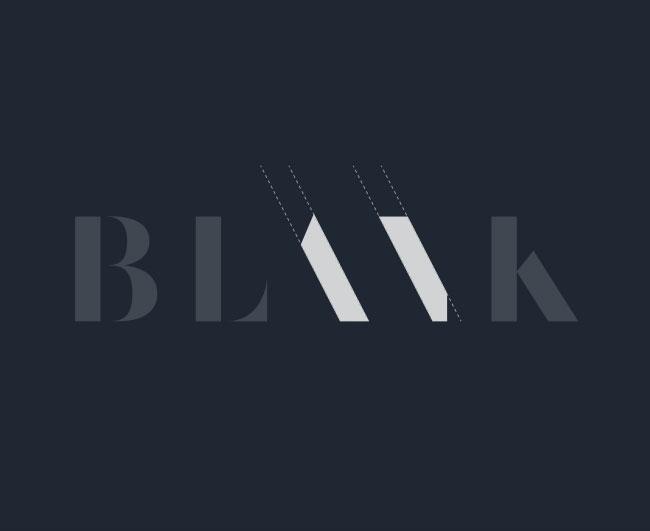 Blank Digital brand identity