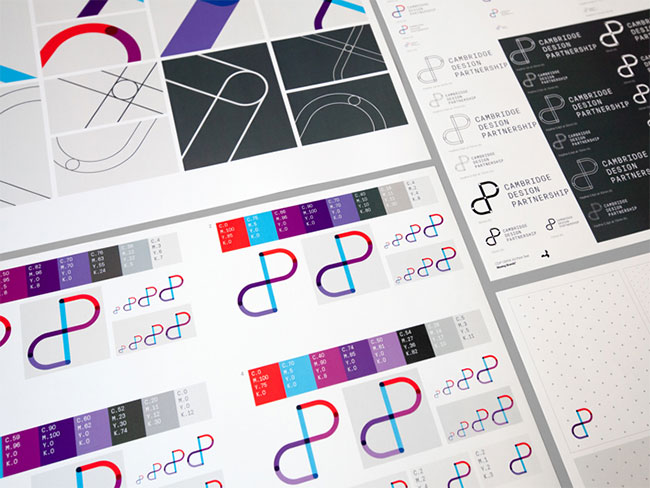 Cambridge Design Partnership brand identity