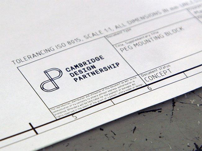 Cambridge Design Partnership brand identity