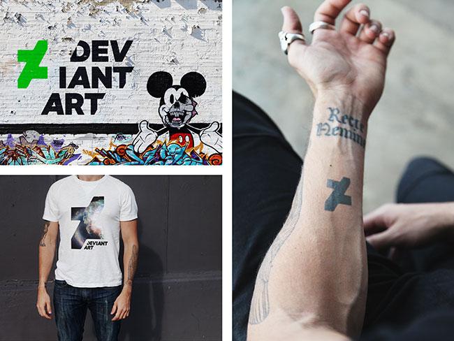 DeviantArt identity design