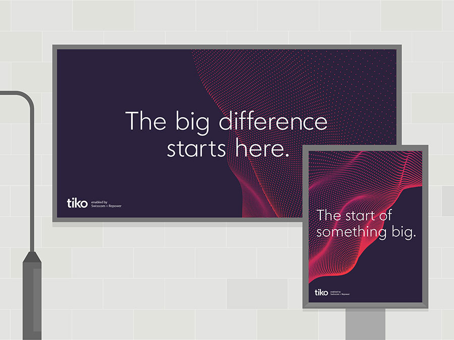 Tiko identity design