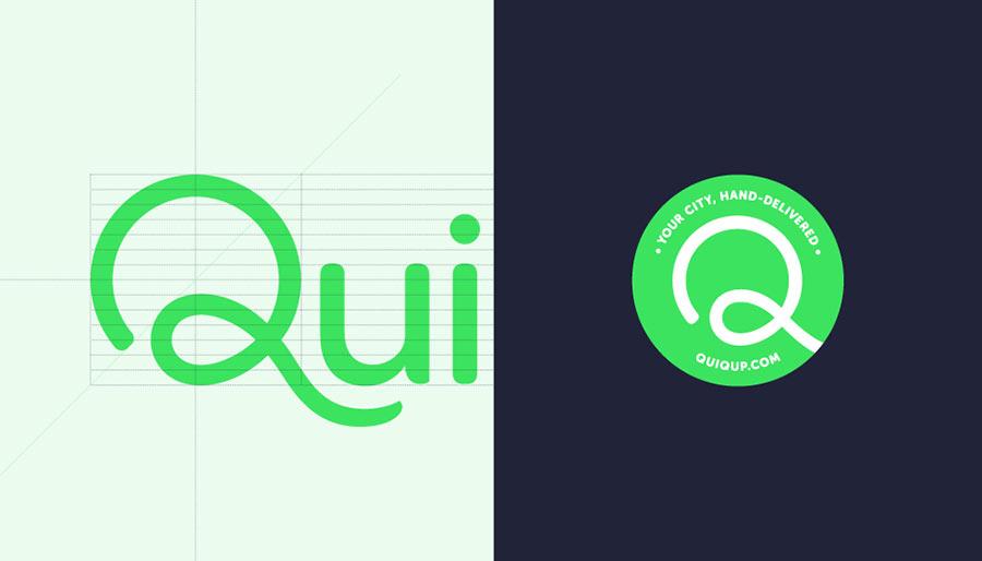 Quiqup identity design