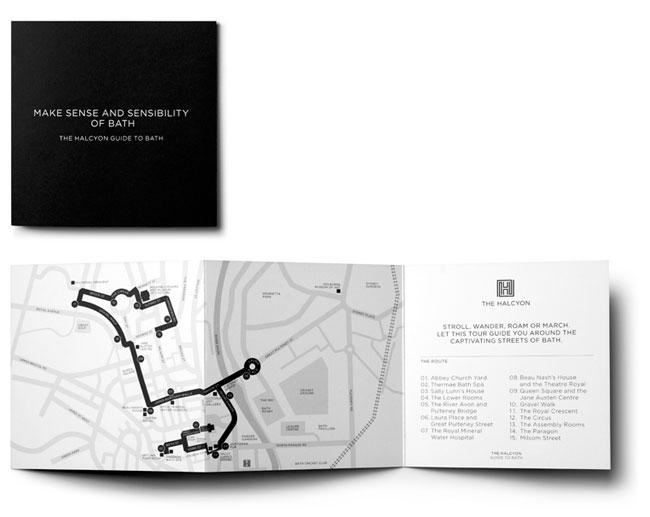 Halcyon Bath map