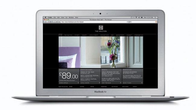 Halcyon Bath website