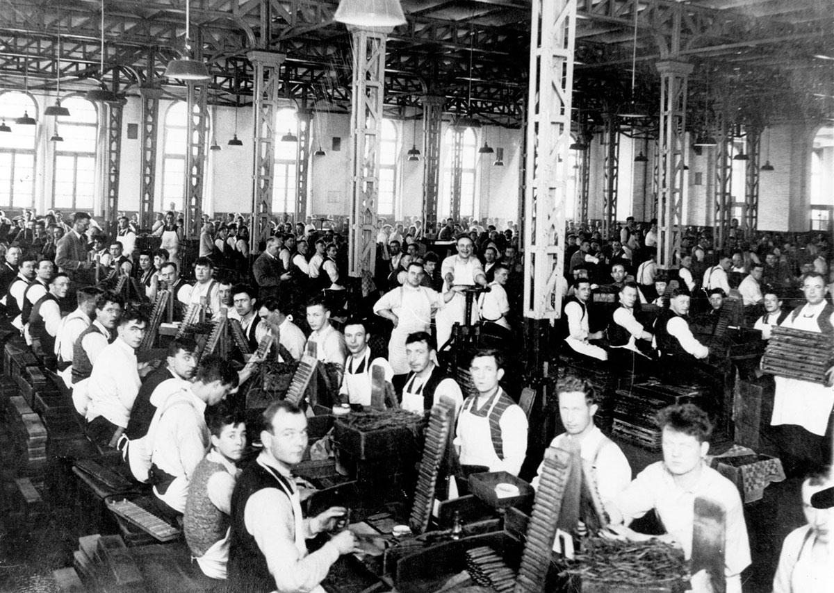 Willem II Fabriek history
