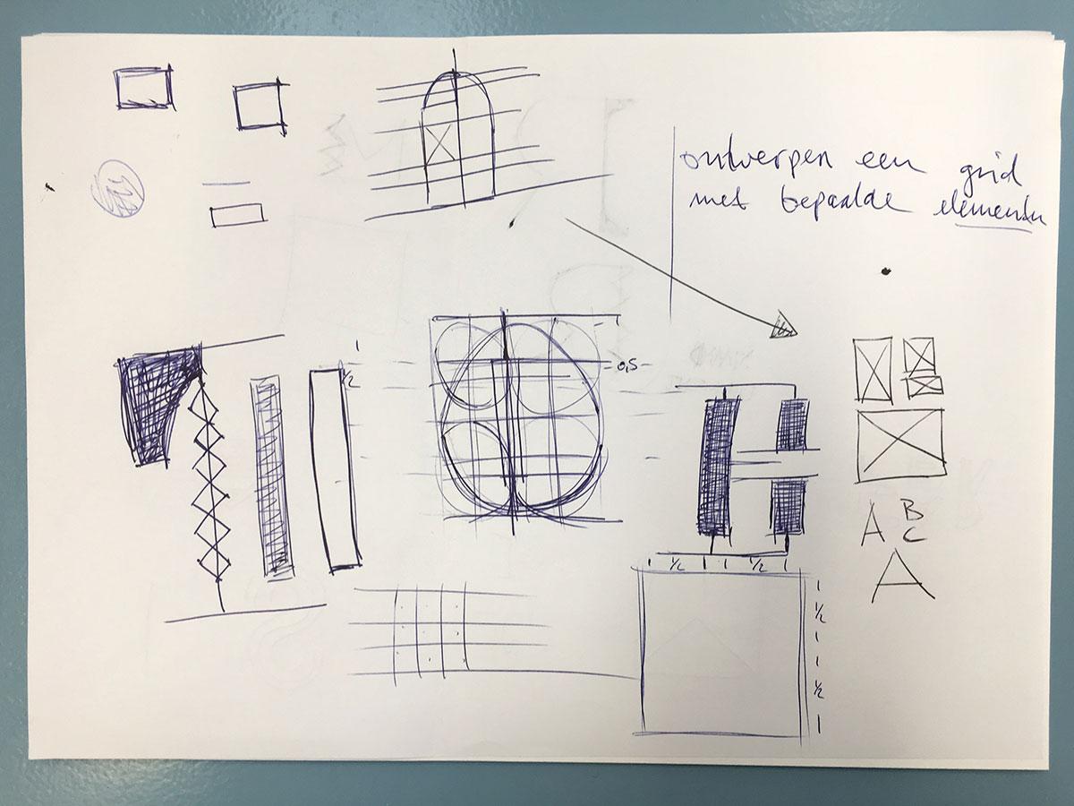Willem II Fabriek sketches