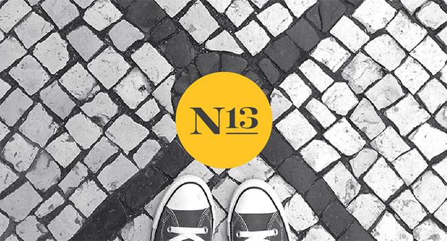 Noise 13 identity design