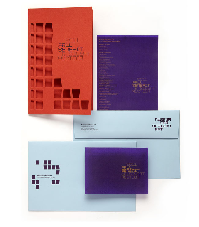 Museum for African Art brand identity design